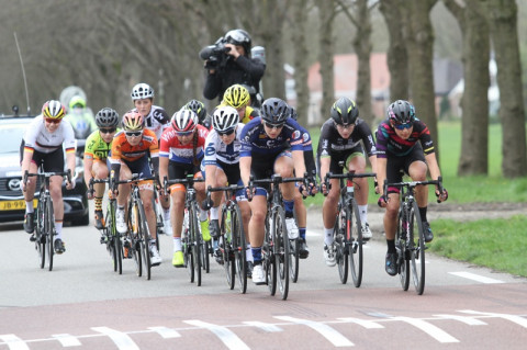 Teams staan te dringen voor Healthy Ageing Tour 2019